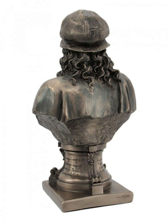 Photo of Leonardo da Vinci Bronze Figurine Bust