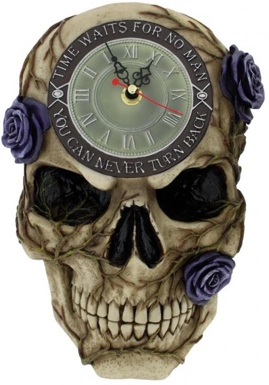Photo of Never Turn Back Backwards Clock 27cm