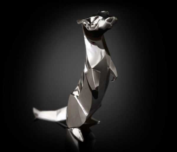 Photo of Otter Standing Hallmarked Sterling Silver Miniature NOMI Design