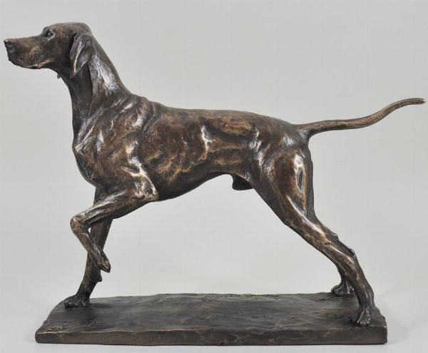 Photo of Pointer Bronze Dog Figurine (David Geenty) 24 cm