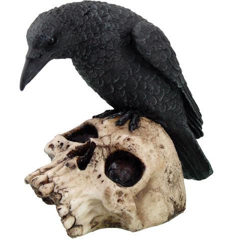 Photo of Raven On Skull Ornament