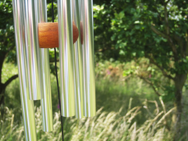 Photo of Silver Arias Wind Chime 18 inches