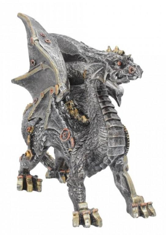 Photo of Steampunk Dragon Small Figurine 20cm