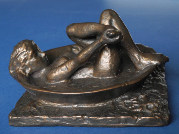 Photo of The Bath Bronze Figurine Degas
