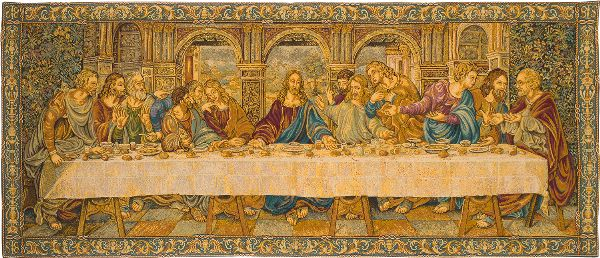 Phot of The Last Supper By Leonardo Da Vinci Wall Tapestry Ii