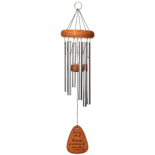 Phot of The Lord Bless You - in Loving Memory Memorial 18 Inch Wind Chime