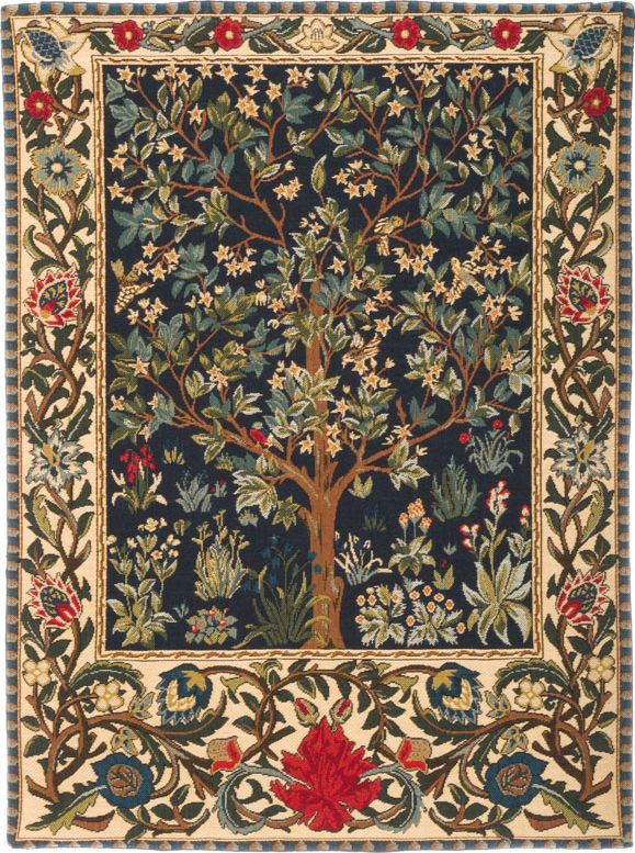 William Morris Tree Of Life Wall Tapestry I The Tapestry