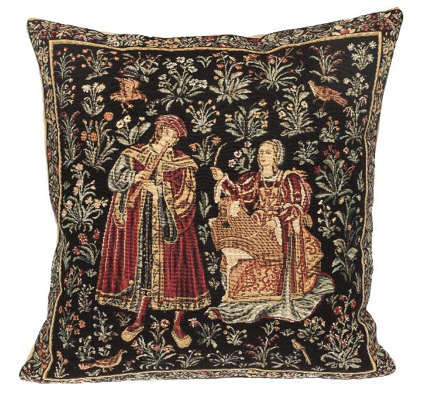 Phot of Convert Medieval Tapestry Cushion