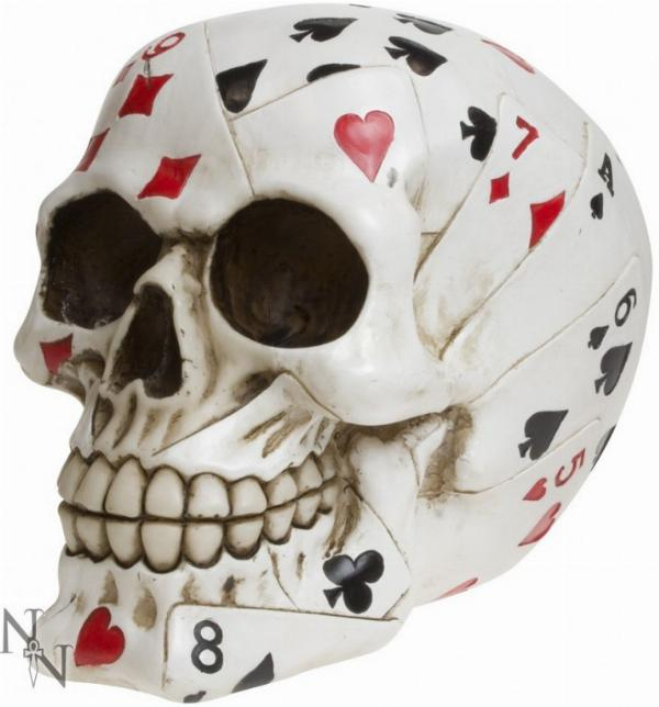 Photo of Dead Mans Hand Skull Ornament