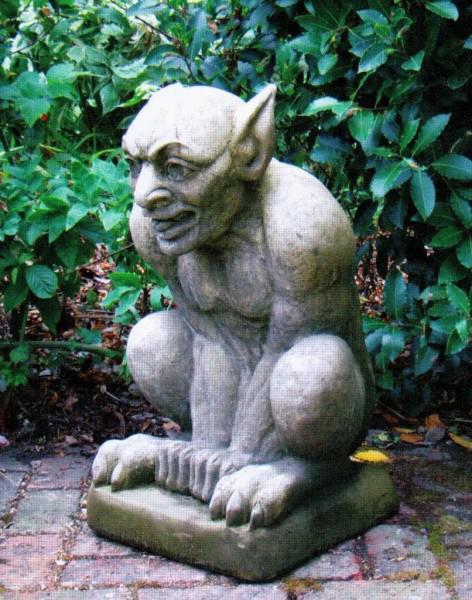 Photo of Demon Stone Sculpture
