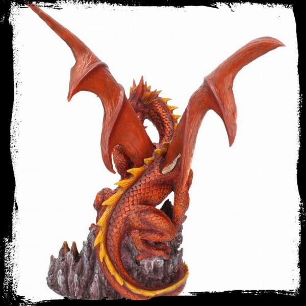 Photo of Dragon of the Volcano Figurine Light Feature 29 cm