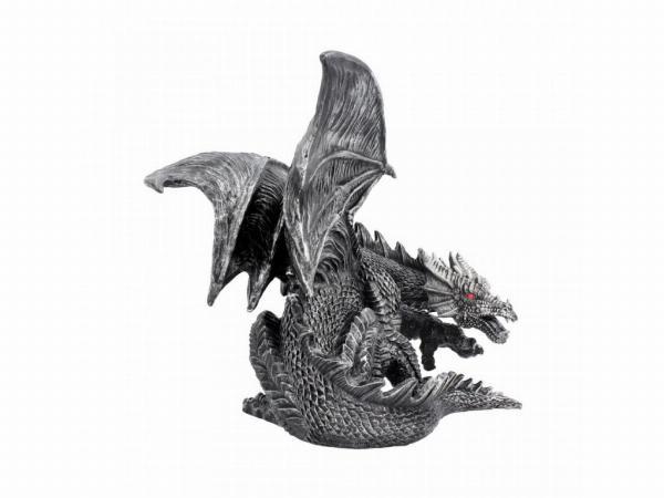 Photo of Draxus Black Dragon Figurine 25 cm