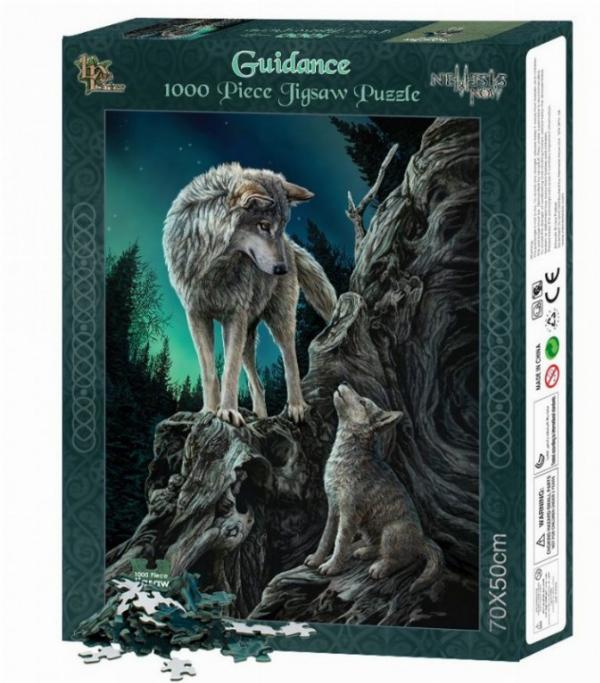 Photo of Guidance Wolf Jigsaw (Lisa Parker) 1000 pieces