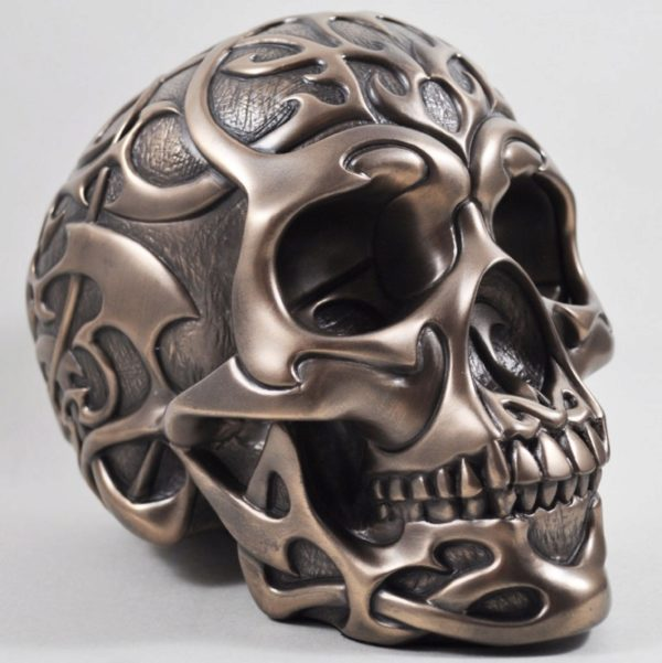 Photo of Heavyweight Tribal Skull Bronze 2.5kg