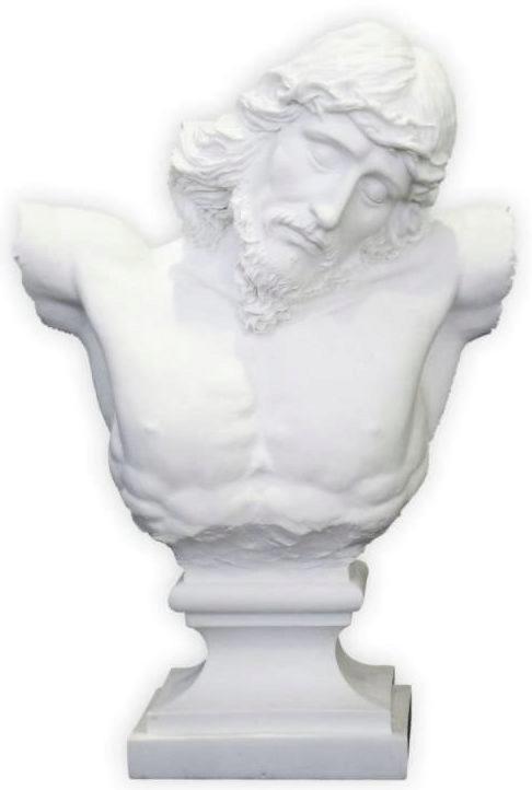 Photo of Jesus Bust Figurine White 25 cm