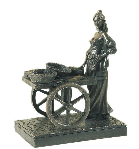Photo of Molly Malone Bronze Figurine