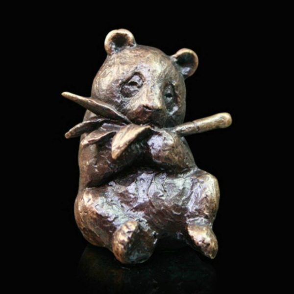 Photo of Panda Bronze Miniature (Butler and Peach)