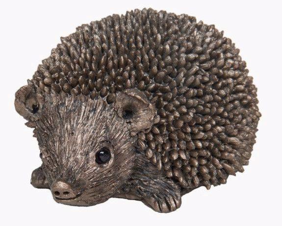 Photo of Squeak Small Hedgehog Bronze Sculpture (Thomas Meadows)