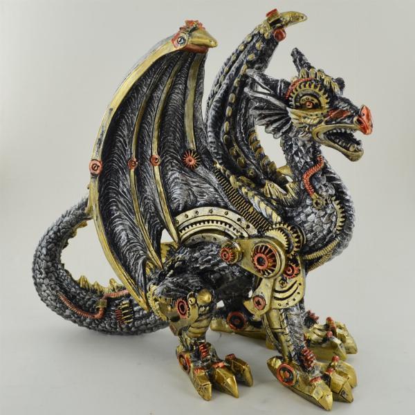Photo of Steampunk Dragon Guard Figurine