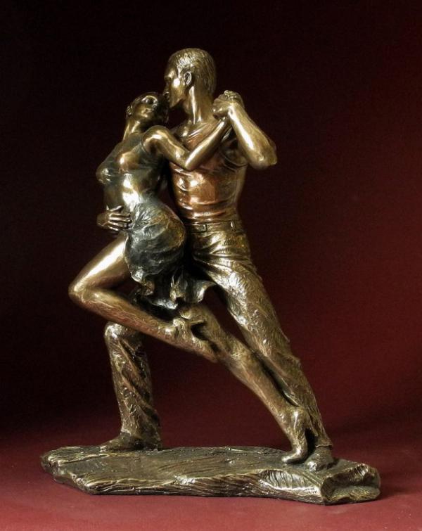 Photo of Tango Bronze Figurine