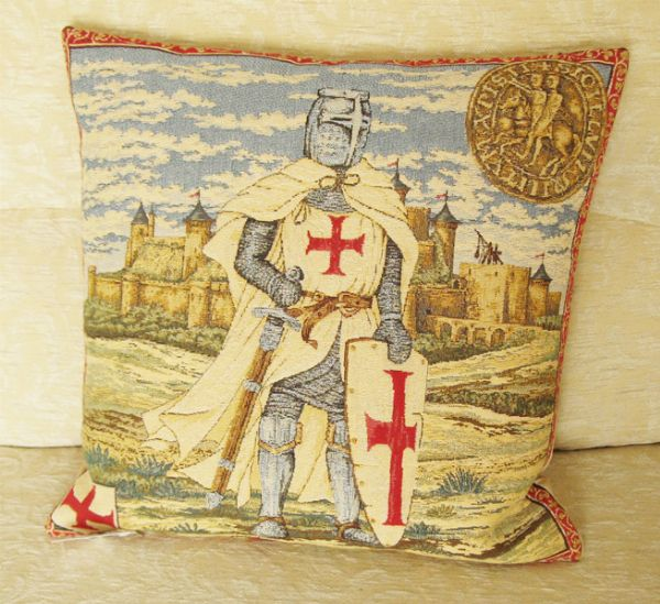 Phot of Templar Tapestry Cushion