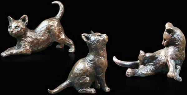 Photo of Three Little Kittens Figurines (Limited Edition) Michael Simpson