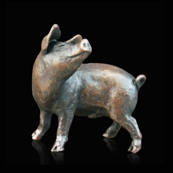 Photo of Three Little Pigs Bronze Figurine (Limited Edition) Michael Simpson