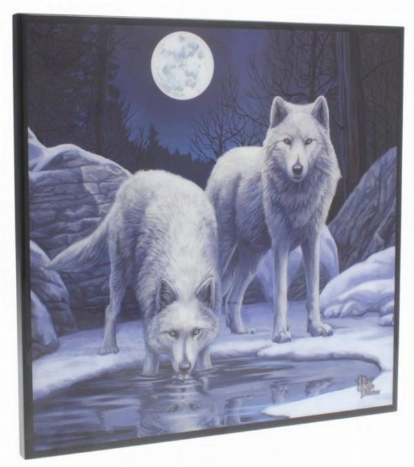 Photo of Warriors of Winter Crystal Clear Wolf Picture (Lisa Parker)