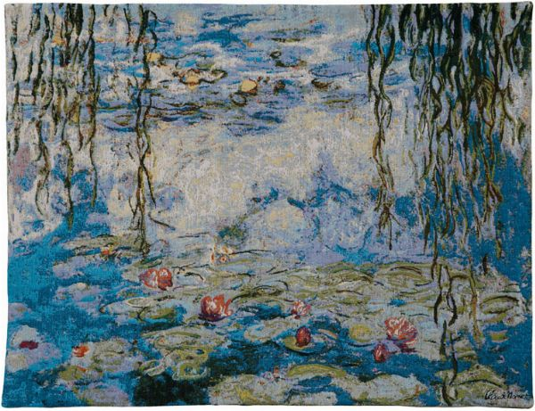 Phot of Water Lilies By Monet Wall Tapestry Ii