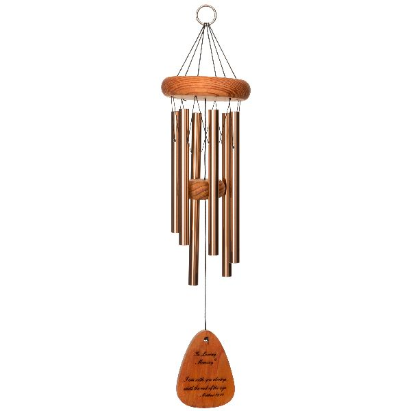 Phot of With You Always - in Loving Memory Memorial 18 Inch Wind Chime