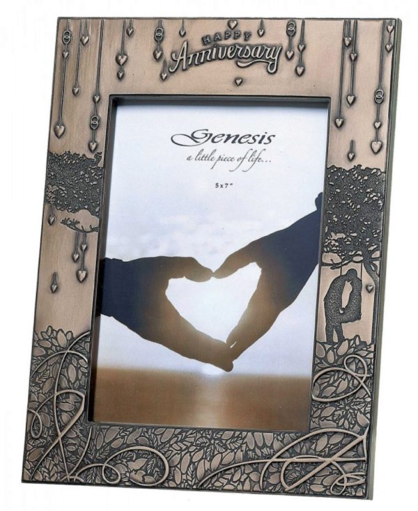 Photo of Anniversary Frame Bronze 5 x 7