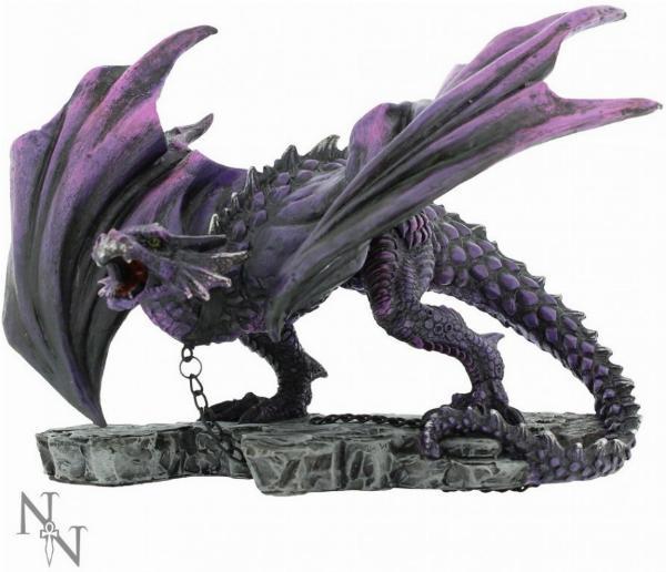 Photo of Azar the Aggressor Dragon Figurine 22cm