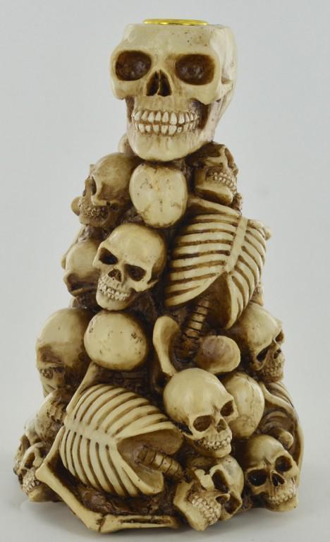 Photo of Bone Pile Candle Holder 20cm
