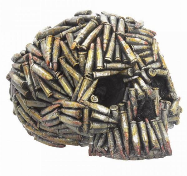 Photo of Bullet Skull Ornament