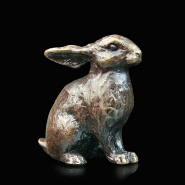 Photo of Bunny Rabbit Bronze Miniature (Butler and Peach)