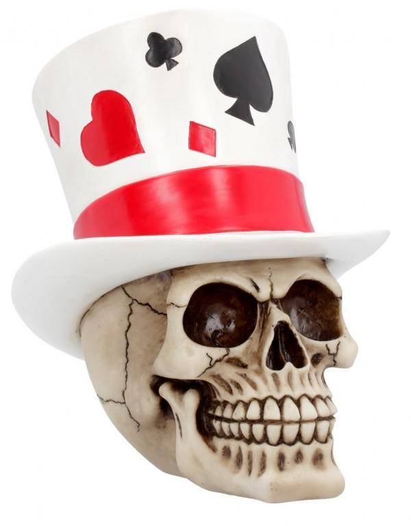 Photo of Casino Jack Skull Ornament 20 cm