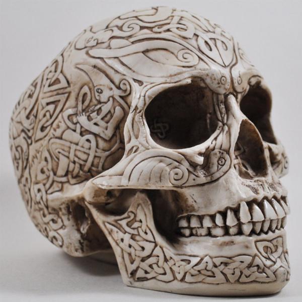 Photo of Celtic Skull Ornament