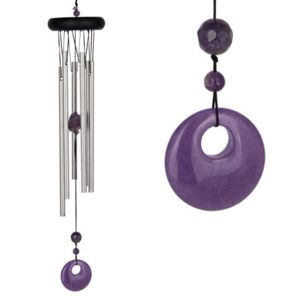 Photo of Chakra Amethyst Wind Chime (Woodstock)