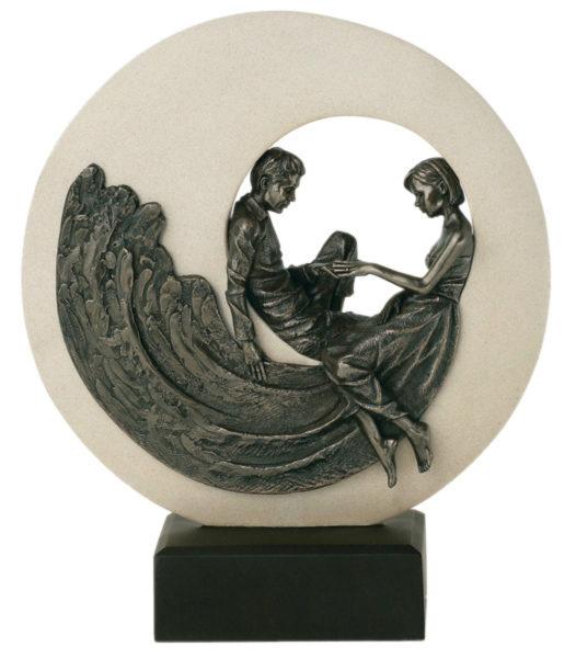 Photo of Circle of Love Bronze Figurine