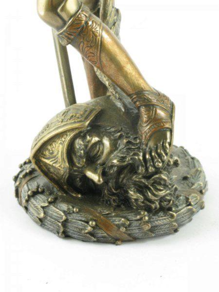 Photo of David Bronze Figurine Donatello