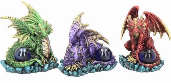 Photo of Dragon Guards (Set of 3) Dragon Ornaments 9 cm