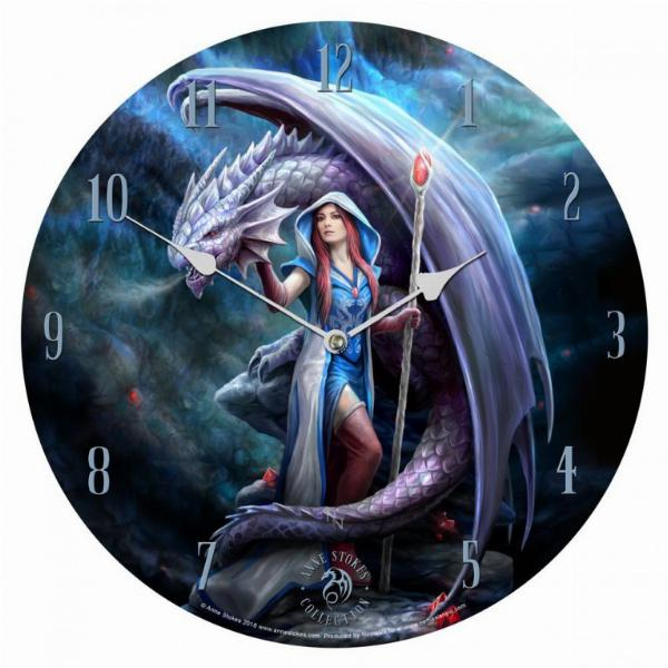 Photo of Dragon Mage Clock 34 cm (Anne Stokes)