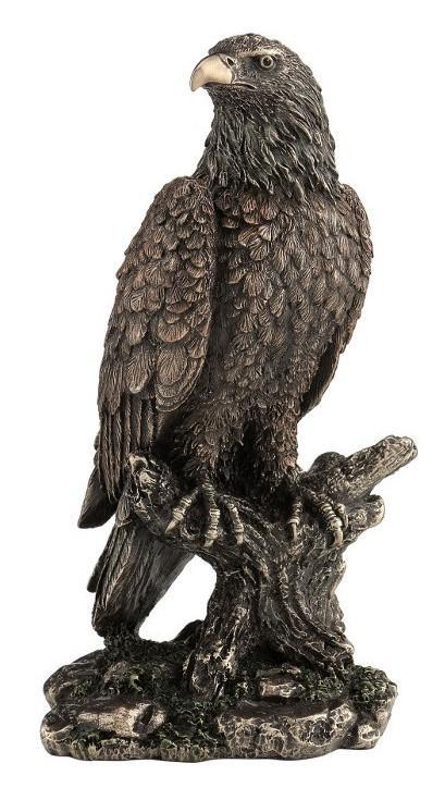 Photo of Eagle Bronze Figurine 22 cm