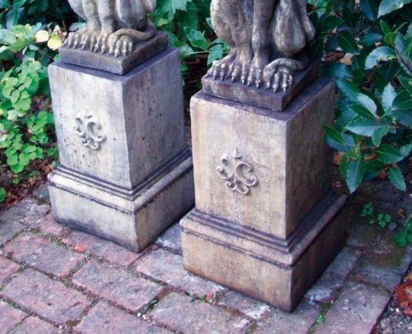 Phot of Gothic Style Stone Garden Plinth
