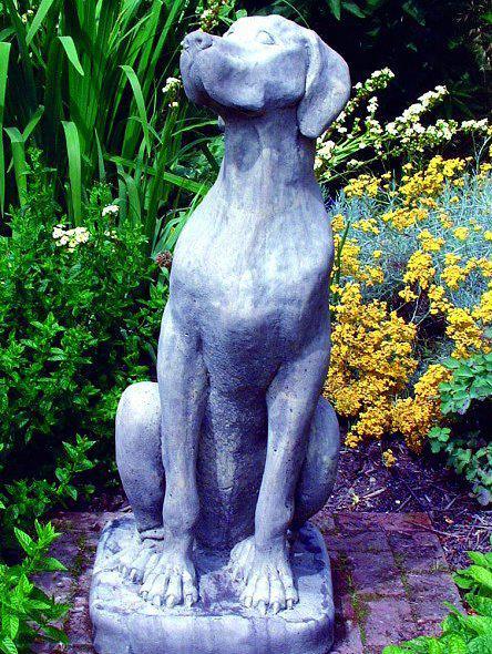 Photo of Great Dane Dog Stone Sculpture Female