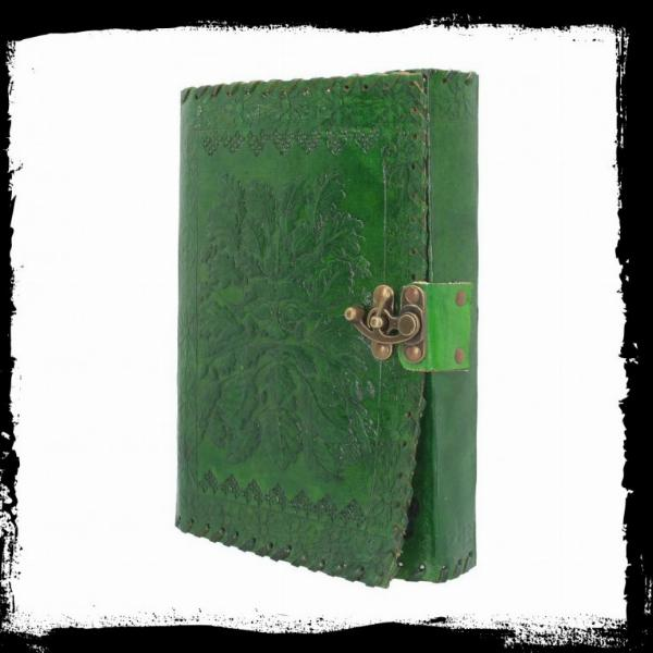 Photo of Greenman Leather Journal and Lock 25 x 18cm
