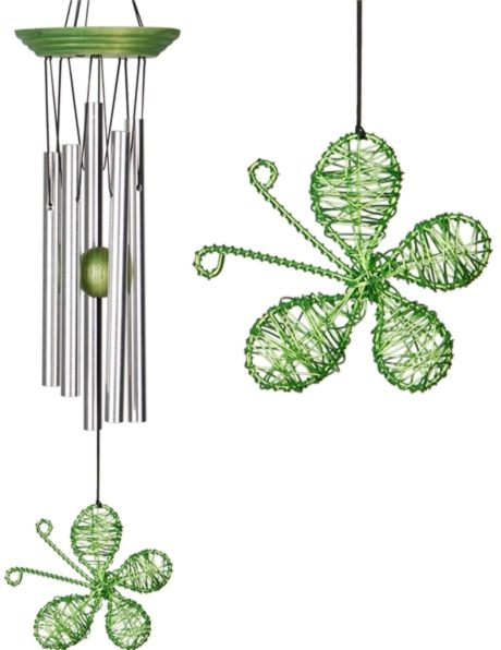 Photo of Isabelles Dancing Butterfly - Lime Wind Chime (Woodstock)