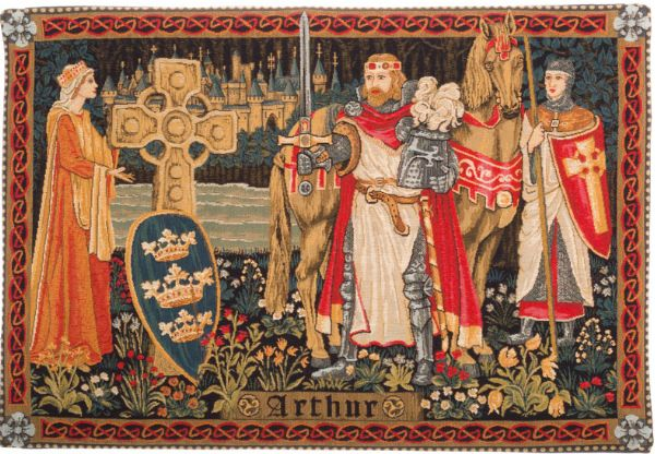 Phot of King Arthur Wall Tapestry