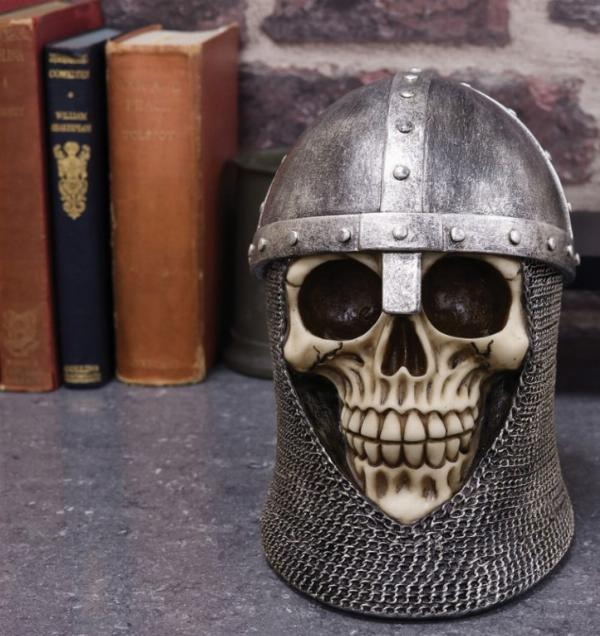 Photo of Knight Skull Ornament