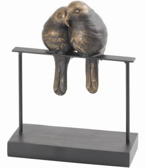 Photo of Lovebirds Sculpture Bronze